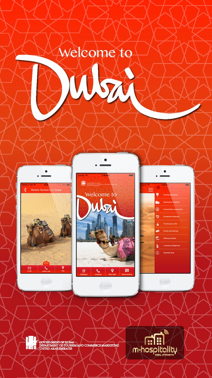 App for welcome to Dubai at WTM2013