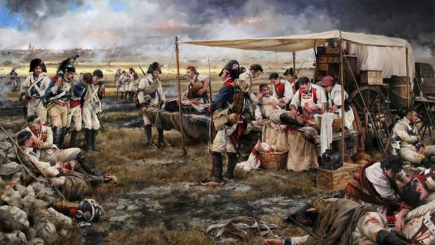 «Bailén 1808. El precio de la victoria», el homenaje de Ferrer-Dalmau a los sanitarios militares españoles