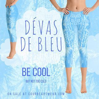 🌬 Be Cool 💨 with Dévas de Bleu Capris Leggings by Courbé Artwear http://crwd.fr/2uNLLox  #yoga #art #yogalove #yogalife #yogaleggings #yogalifestyle #activewear #artleggings #yogafashion #leggings #igfashion #fashionista #yoga4life #fashiongram #fashion #beautiful #activelife #yogagirl #fashionstyle #fitness #capris #caprisleggings  #awesome #instacool #cool