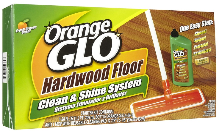Orange Glo leaves behind a white-film on your hardwood floors. It can ...