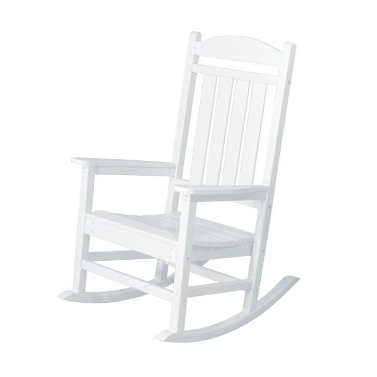 White Plastic Rocking Chair - Large Home Office Furniture Check more at http://invisifile.com/white-plastic-rocking-chair/