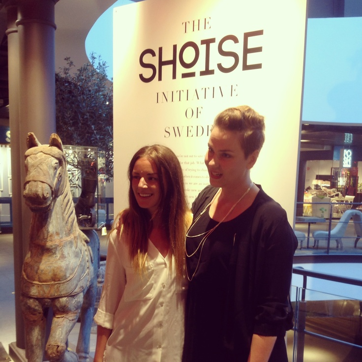 Petra and Matilda founder of Shoise