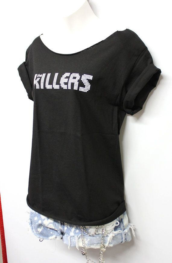 The Killers band tee scoop neck by OneLovePasadena on Etsy, $23.00