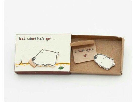 I Love You Miniature Matchbox Craft Rs 149 Matchbox Craft
