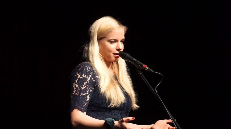 """Julia Engelmann - """"Für meine Eltern"""" live in Bayreuth 10.3.2015"""