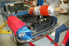 Electric 1968 Mustang Fastback Capable of 750 Horsepower - While hardcore traditionalists might find that throwing an electric motor inside of a Mustang might be blasphemous, an electric Mustang capable of 750 horsepower is more than okay in our book. Inside of the engine bay sit two 11-inch electric motors, a set of Zilla controllers, a 40 kwh battery tied together to throw down 750 hp and nearly 2,000 lb-ft of torque. The car is said to run 0-60 mph just three seconds