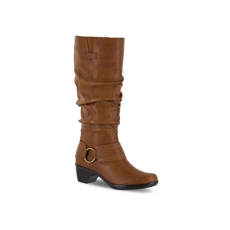 Easy Street Jayda Women's Riding Boots, Size: medium (9.5), Dark Brown