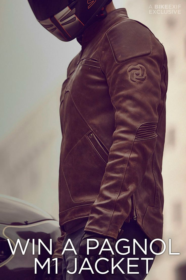 We like the $649 Pagnol M1 motorcycle jacket so much, we're giving you the chance to win one.