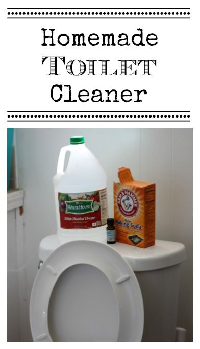 This inexpensive all-natural homemade toilet cleaner takes just minutes to make!