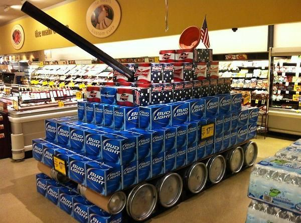 Beer Case Army Tank