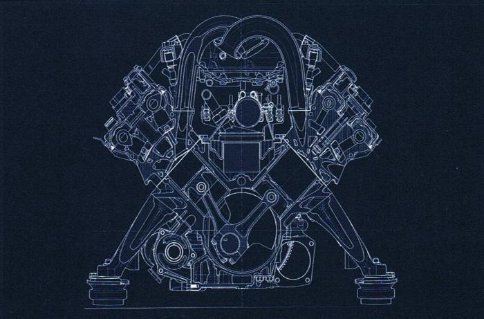 v8 engine blueprints - photo #22