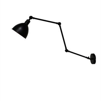 Bazar svart vägglampa. Till köket. Lampa som sticker ut. By Rydens. Finnspå lampan.se. 995 kr