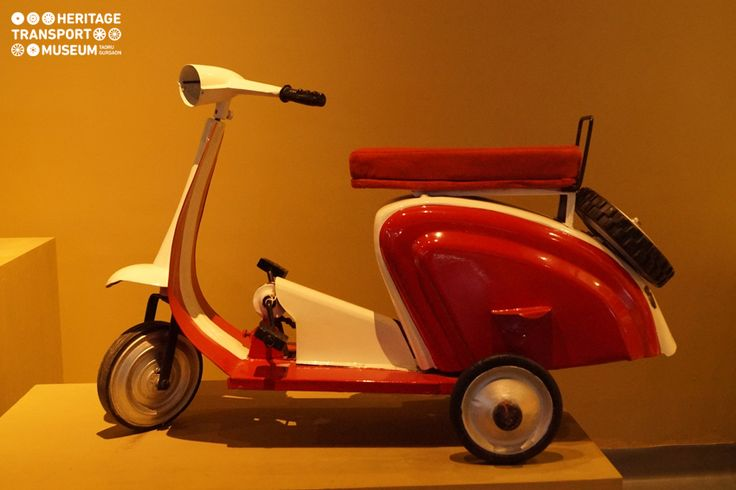 Take a look at this Mini Pedal #Scooter, placed at the #toy section of the ‪#‎museum‬. This scooter was an object of joy for children during 1950s and 60s.