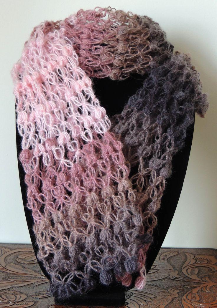 Una linda y vistosa variación del Punto Salomón en Crochet