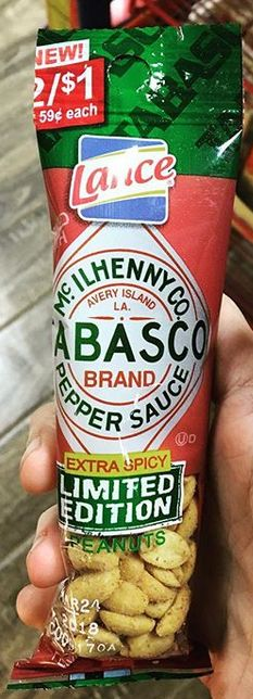 Lance Tabasco Pepper Sauce Extra Spicy Peanuts