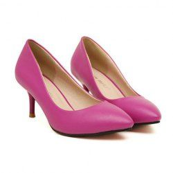 $12.38 Elegant Style Women's Stiletto Heel Pumps With Classic Pointed Toe Design