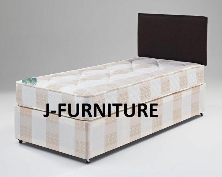 3ft Cheap Single Divan Bed With Mattress Super Value !