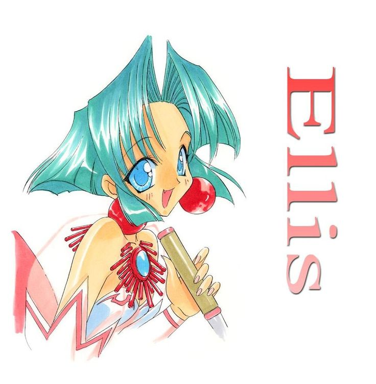 Ellis / battle arena toshinden / aoi nanase