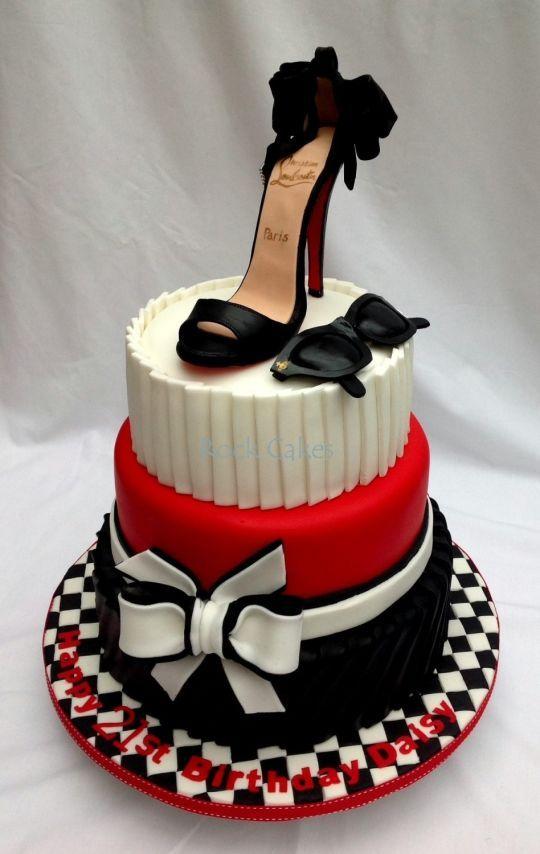 Louboutine shoe cake