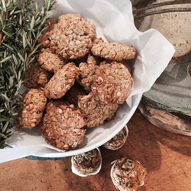 Wattleseed & Macadamia ANZAC Cookies fresh from the oven! | Little Rae General Store