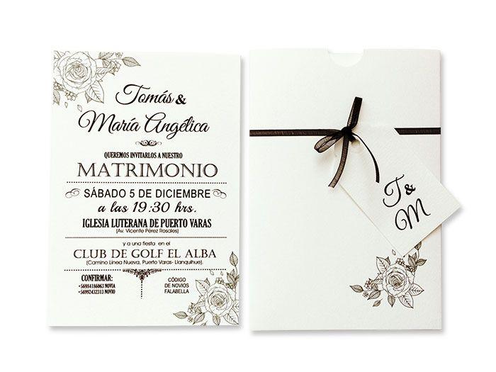 Partes de matrimonio elegantes - originales - creativos