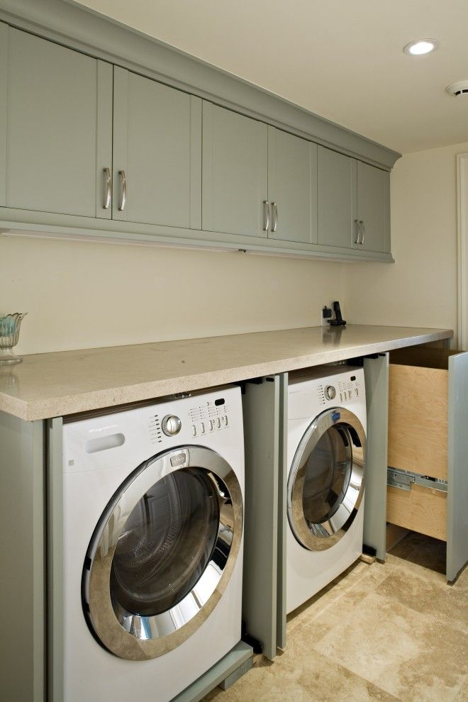 Small Laundry Room Design | Clean Small Size Laundry Room Layout Pictures  Designs: Simple Wall
