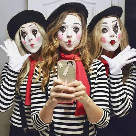 MIME HALLOWEEN COSTUME
