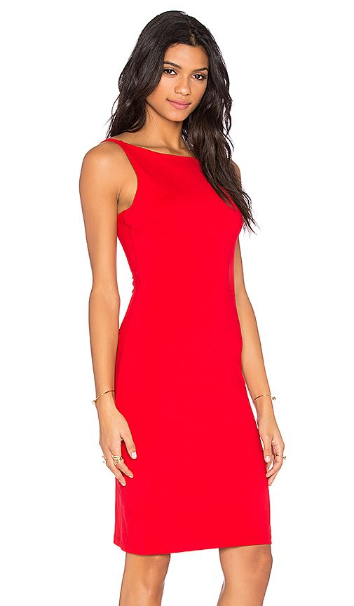 $176.00  Shop for Susana Monaco Hilda Dress in Perfect Red at REVOLVE. Free 2-3 day shipping and returns, 30 day price match guarantee.