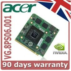 Acer Aspire 6920G NvIDIA VG.8PS06.001 Graphics Card Cheap Acer Aspire 7720G Laptop Graphics card offer. Visit BARGAIN LAPTOP STORE  www.bargainlaptopstore.co.uk for other models