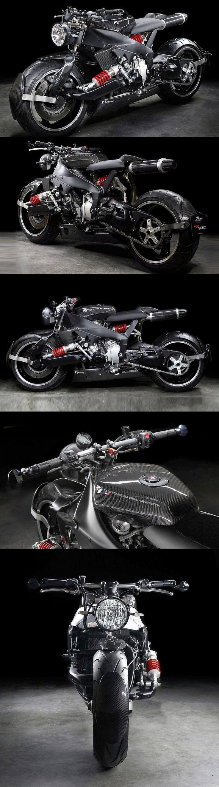 Yamaha YZF R1 Street by Ludovic Lazareth