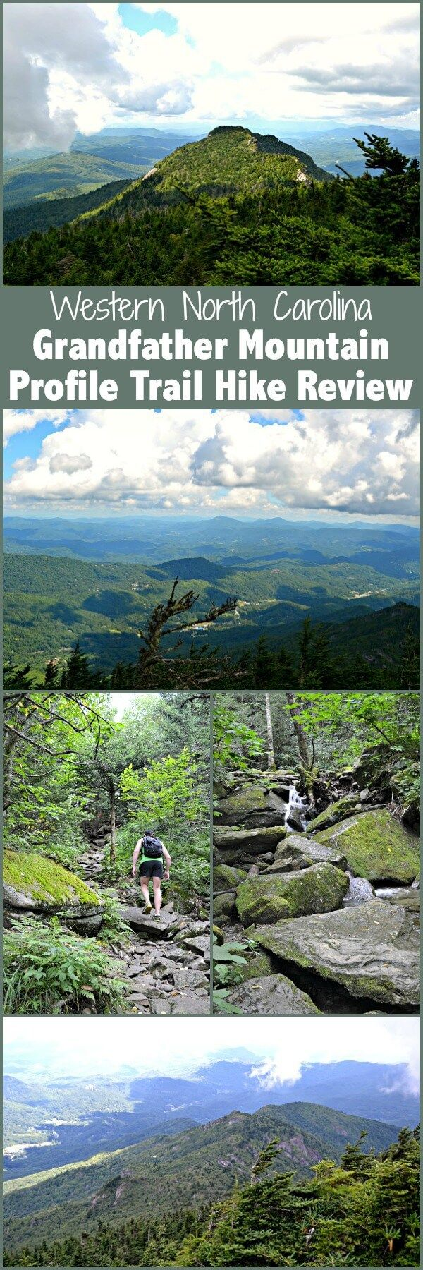 A review of the Profile Trail hike to Calloway Peak on Grandfather Mountain in…