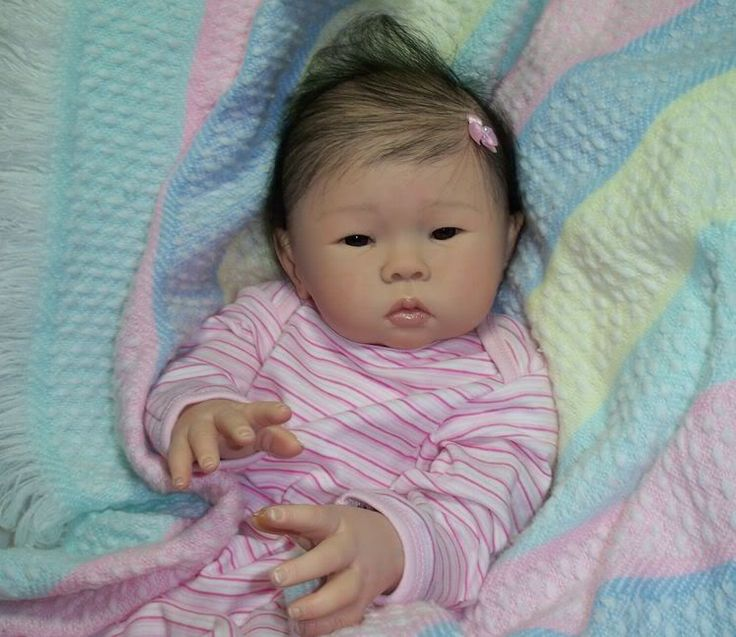 Details About Paradise Galleries Reborn Asian Baby Doll