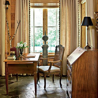Warm & Welcome Floors - Classic Farmhouse Decorating - Southern Living