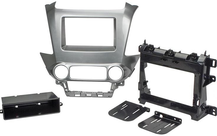 Scosche - Dash Kit for Select Chevrolet and GMC Vehicles - Black