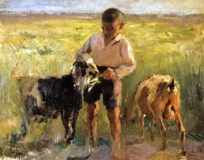 Παπαναγιώτου Σταύρος – Stavros Papanagiotou [1885-1955] | paletaart – Χρώμα & Φώς