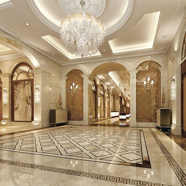 Luxury marble flooring design buscar con google for Interior design living room tiles