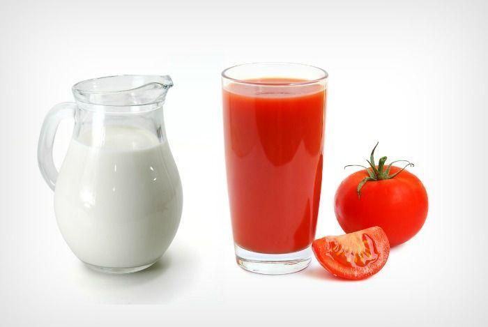 Трехдневная диета с томатным соком и кефиром