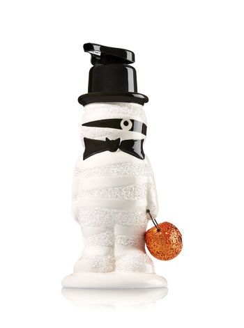 Halloween Mummy Gentle Foaming Soap Dispenser    Bath And Body Works