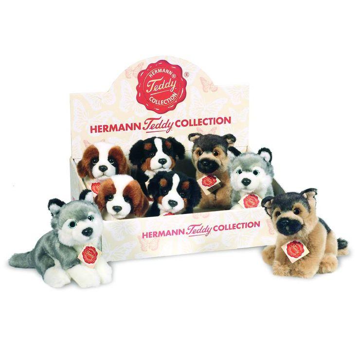 Perros de peluche Hermann Teddy Collection