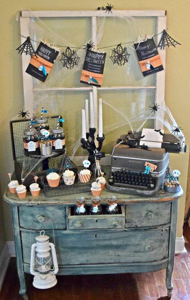 153 best halloween dessert tables images on pinterest family halloween halloween party and halloween ideas