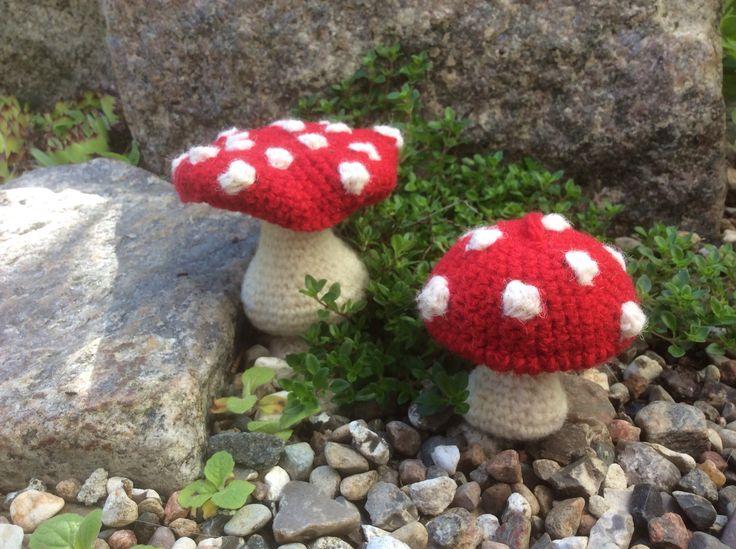 Mushroom, rød fluesvamp, opskrift