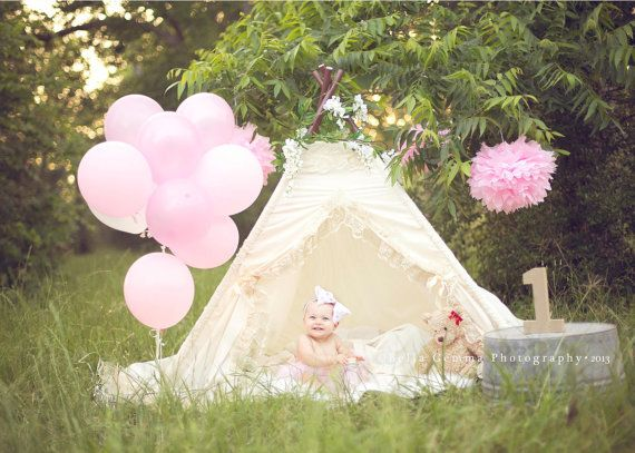 lace teepee tent photo prop by SugarShacksTeepee on Etsy, $117.00 How sweet is this darling Teepee?