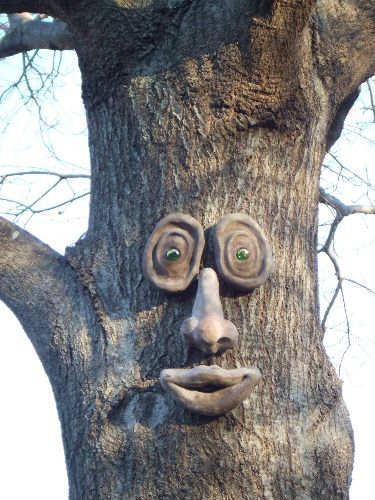 Love tree faces