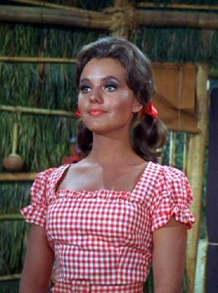 mary ann's red gingham dress