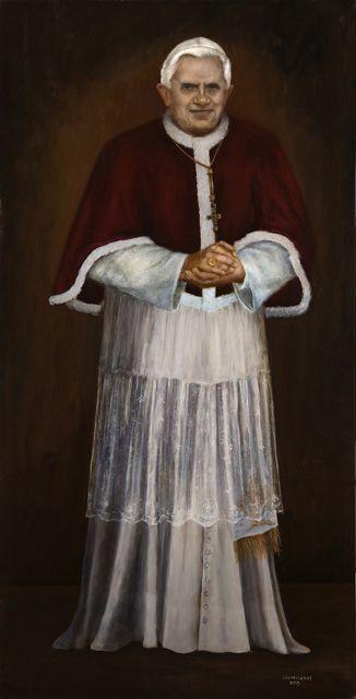 Portrait of Pope Benedict XVI