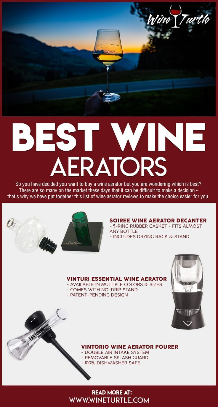 Best Wine Aerators Top Reviews Picks For 2020 Wine Aerators Fun Wine Glasses Wine Cooler