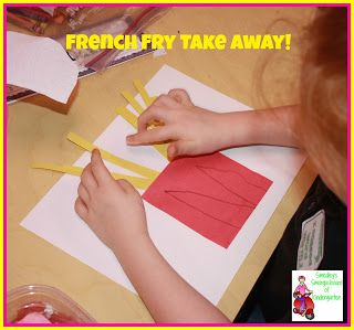 Smedley's Smorgasboard of Kindergarten: A Kindergarten Smorgasboard of French Fry Subtraction!
