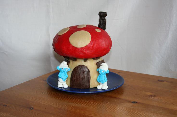 dort šmoulí domeček