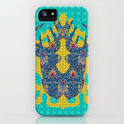 The Lily Story : Polka Mix says Antelope iPhone & iPod Case by Geetika Gulia - $35.00