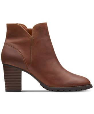 Clarks Collection Women Verona Trish Booties Women Shoes